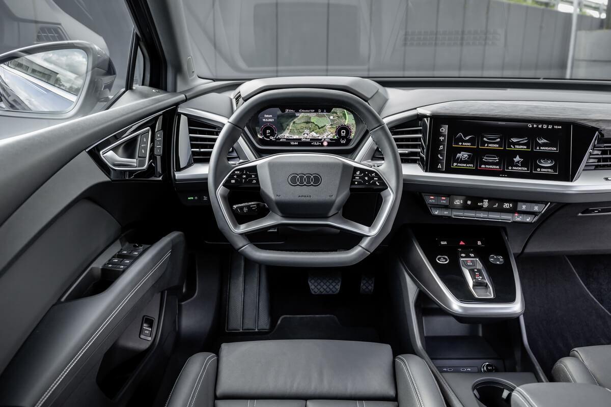 Audi Q4 50 e-tron quattro Interior