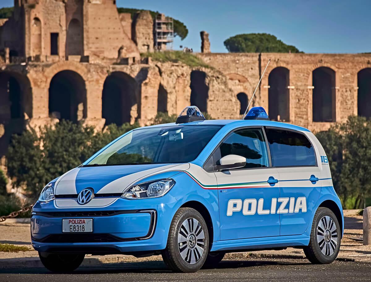 Volkswagen e-Up Polizia