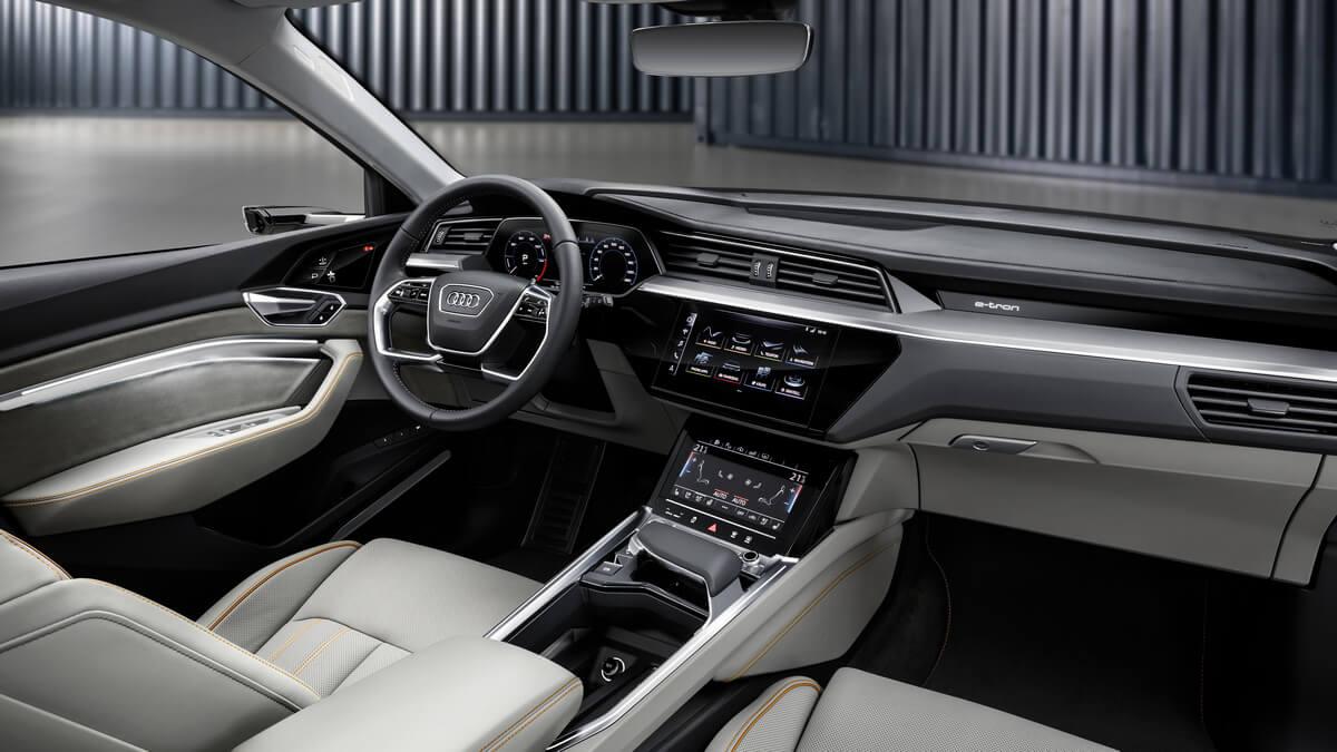 Audi e-tron 55 quattro Interior