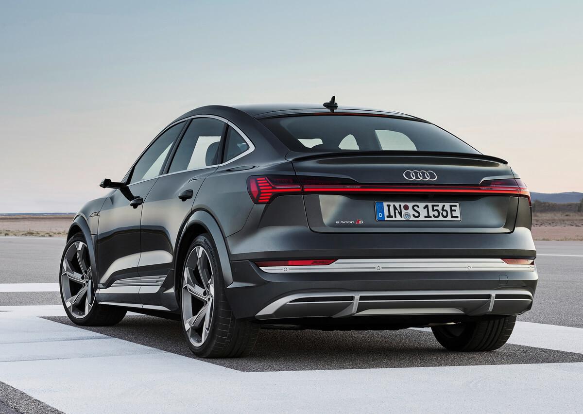 Audi e-tron S Sportback rear
