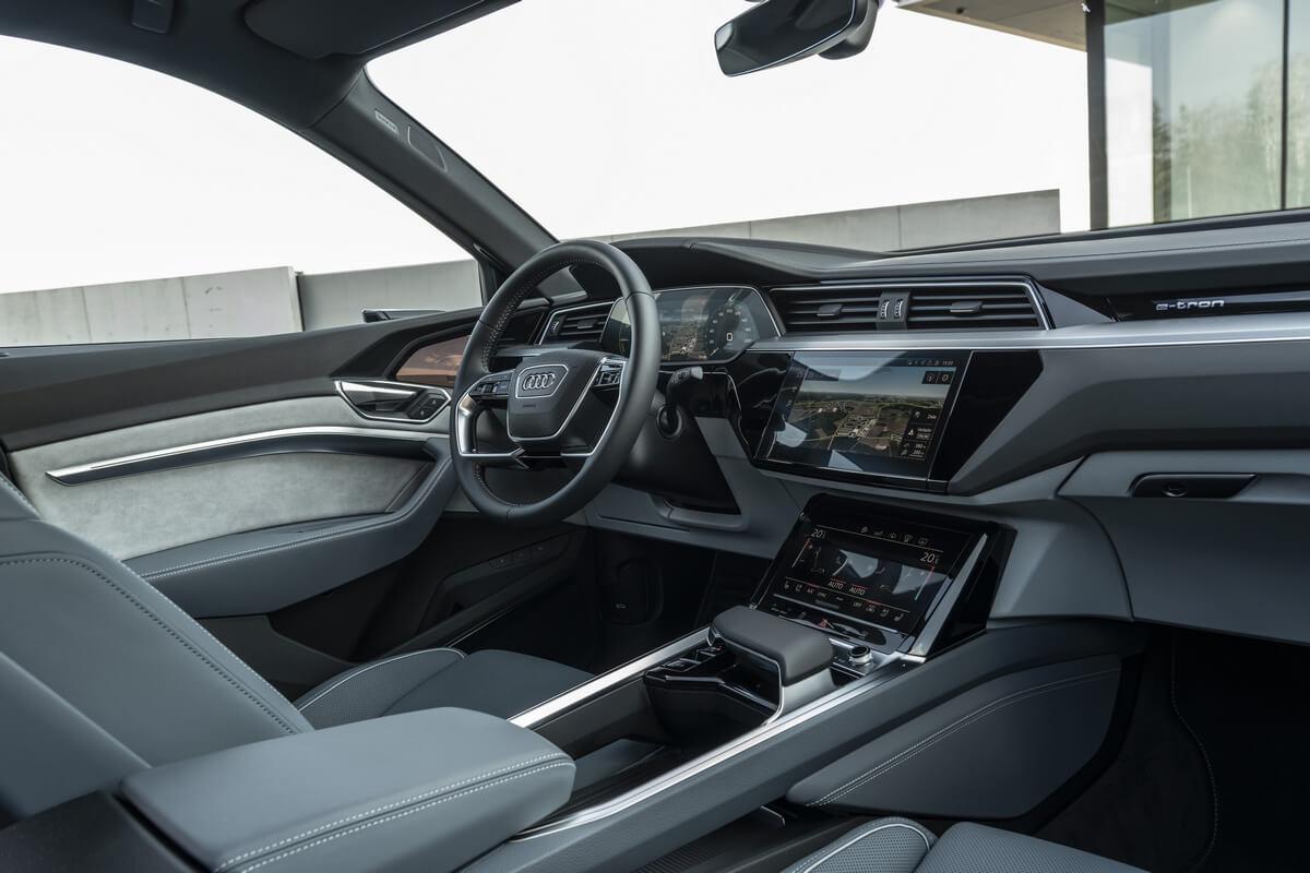 Audi e-tron Sportback 50 quattro S line Interior