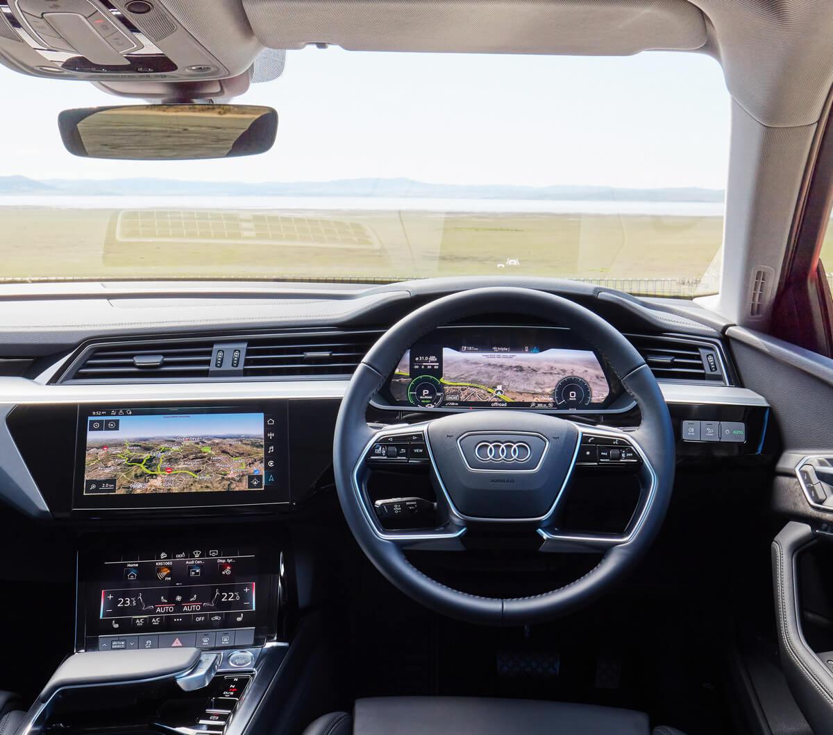 Audi e-tron Sportback 50 quattro S line Interior United Kingdom