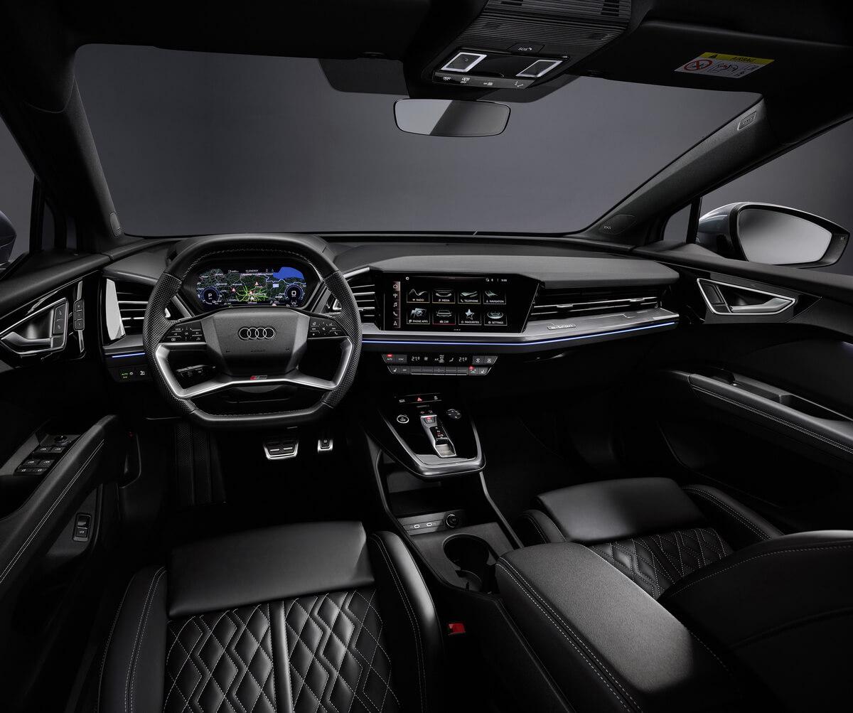 Audi Q4 35 e-tron Interior