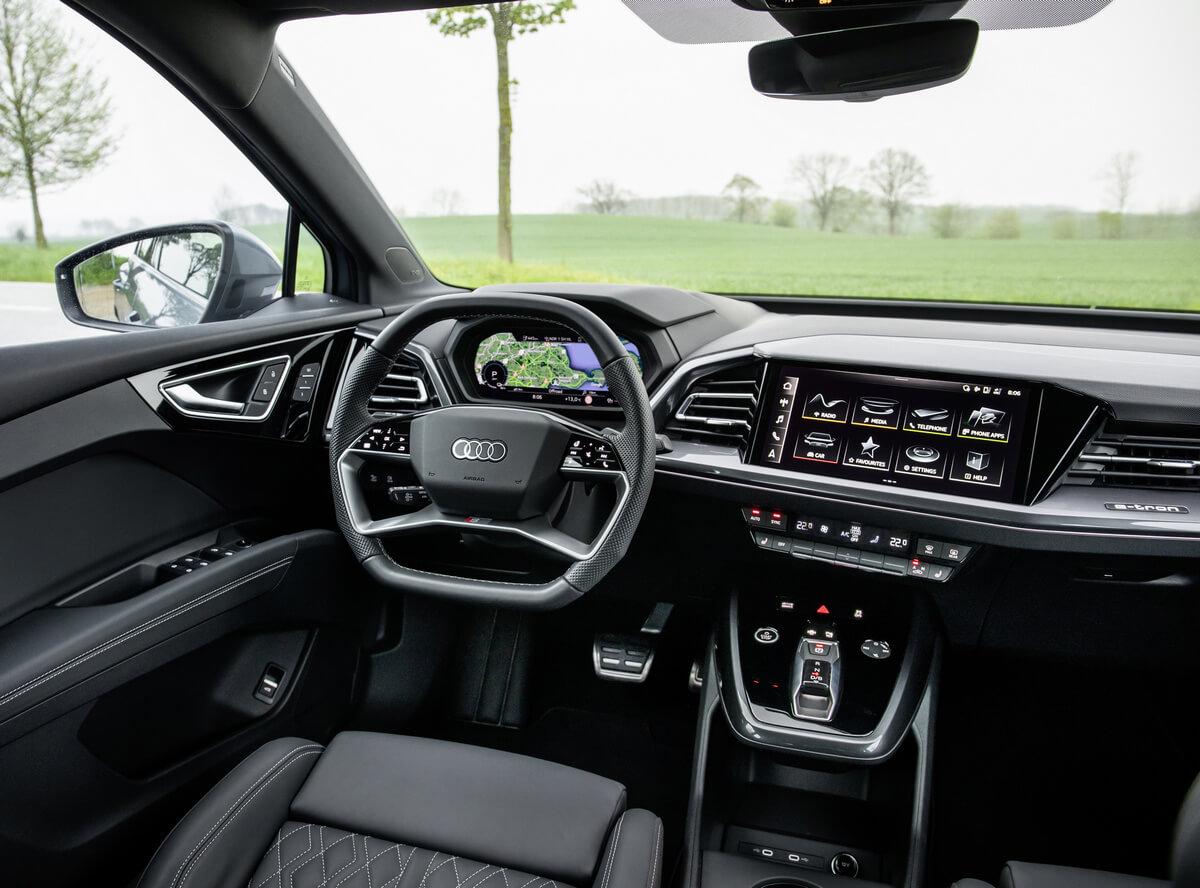 Audi Q4 40 e-tron Interior