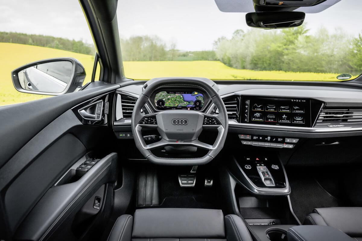 Audi Q4 Sportback 35 e-tron Interior
