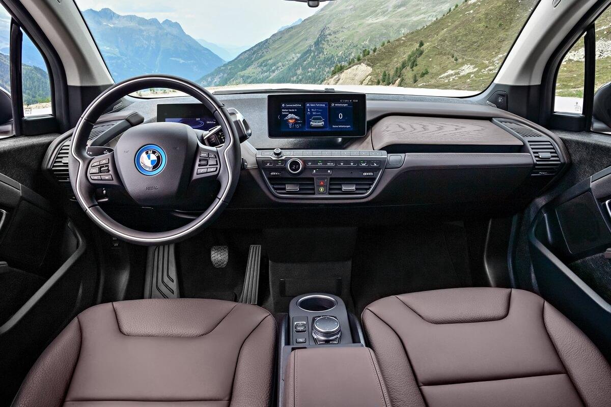 BMW i3s 120 Ah Interior