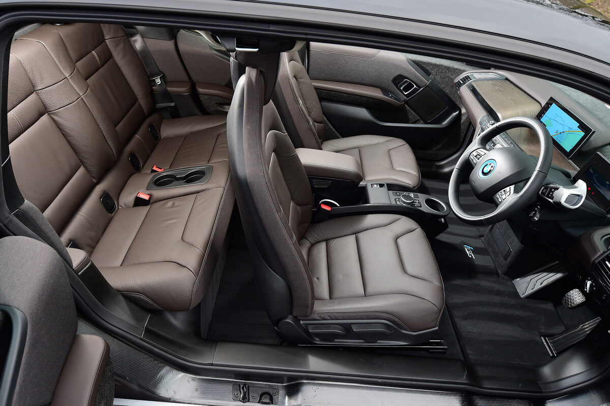 BMW i3s 120 Ah Interior United Kingdom
