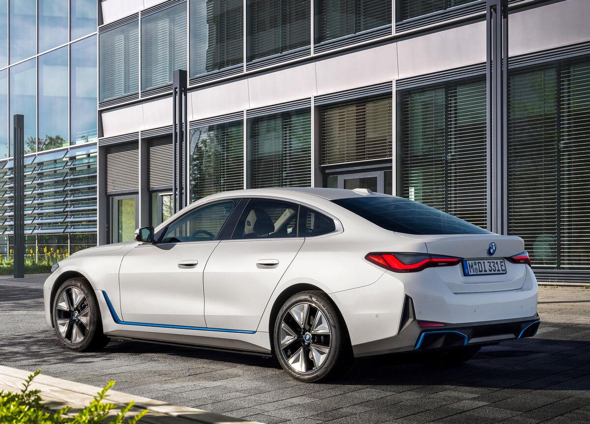 BMW i4 eDrive40 G26 Rear