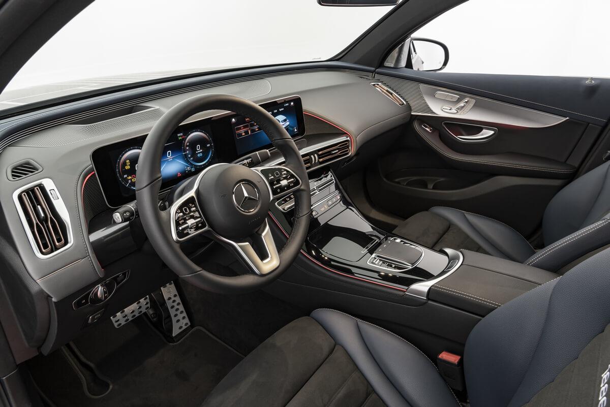 Brabus Electric Mercedes-Benz EQC 400 4MATIC Interior
