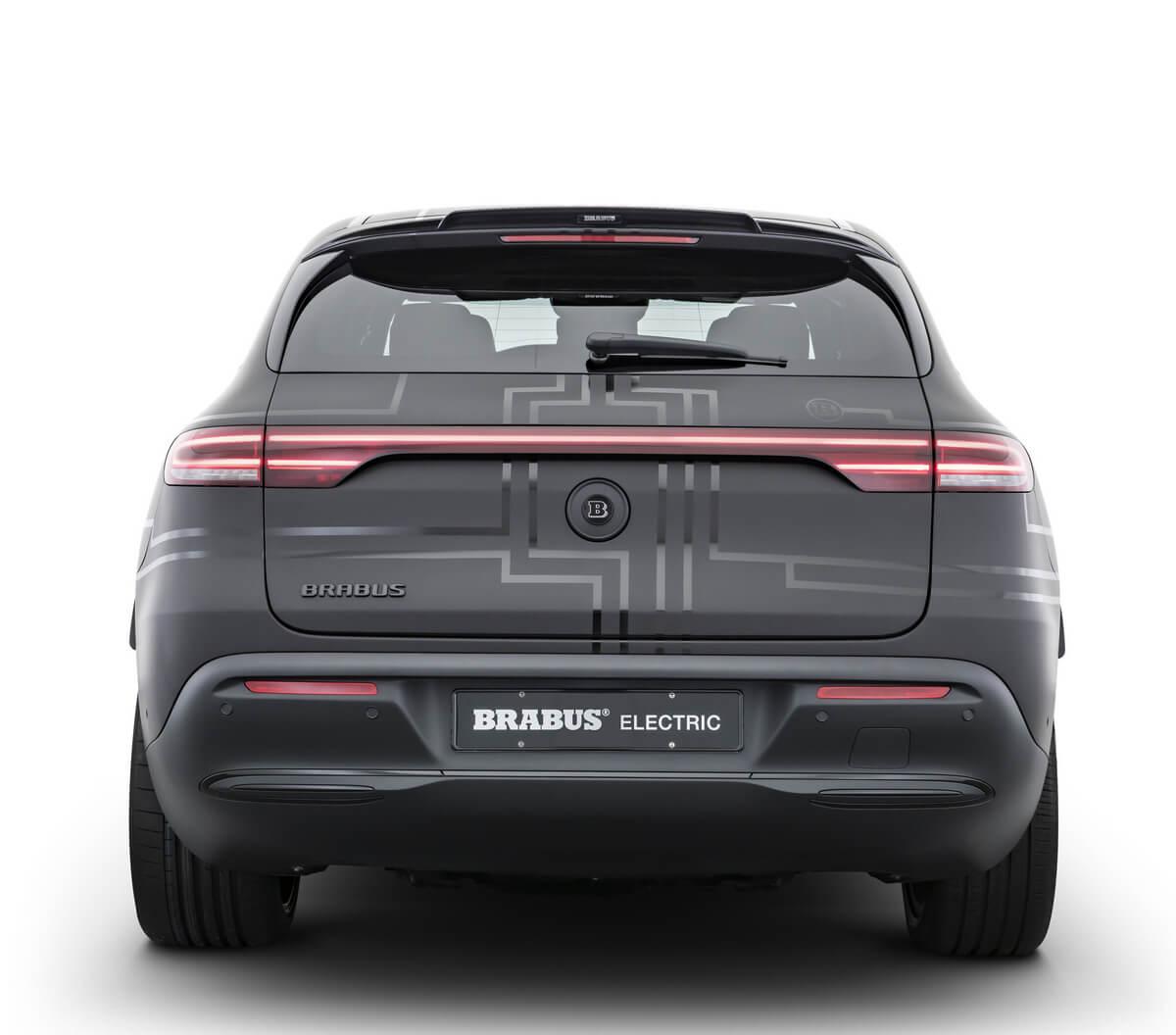 Brabus Electric Mercedes-Benz EQC 400 4MATIC Rear