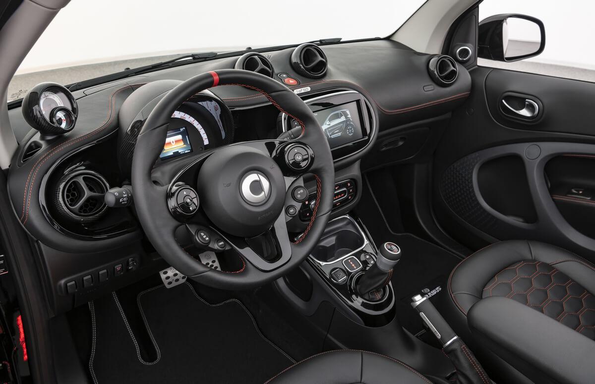 Brabus Ultimate E A453 Interior