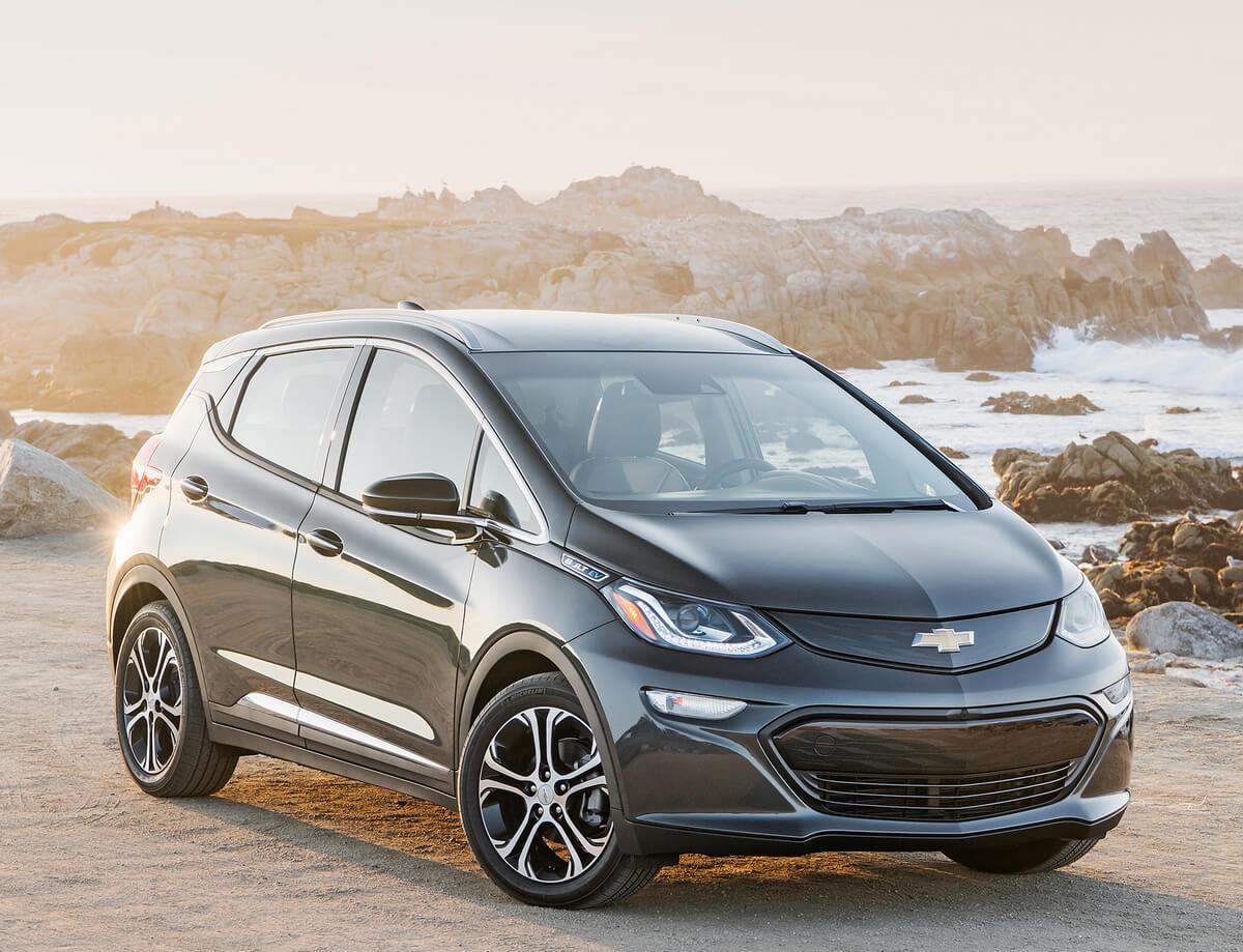 Chevrolet Bolt EV 66 kWh 2017, 2018, 2019, 2020