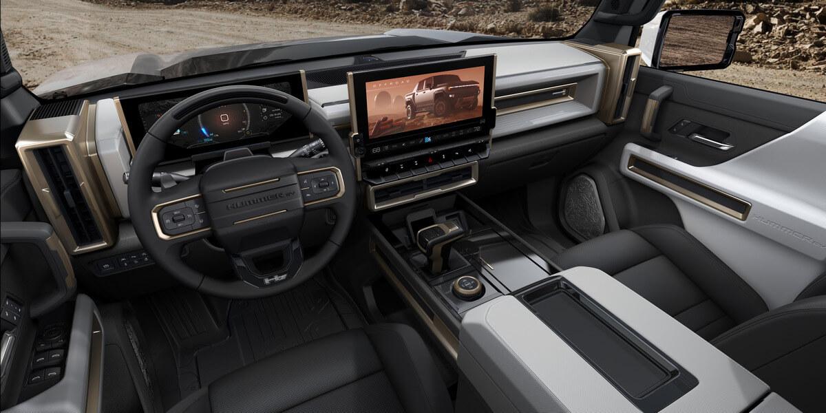 GMC Hummer EV PICKUP Interior