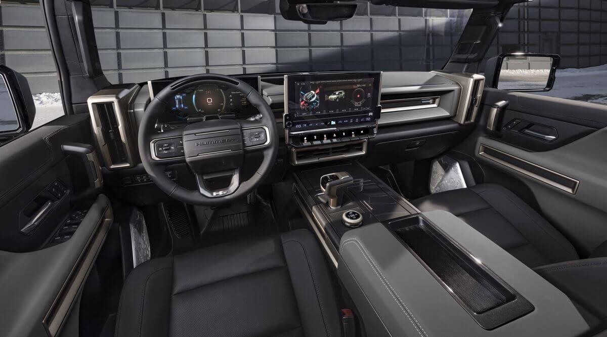 GMC Hummer EV SUV Interior