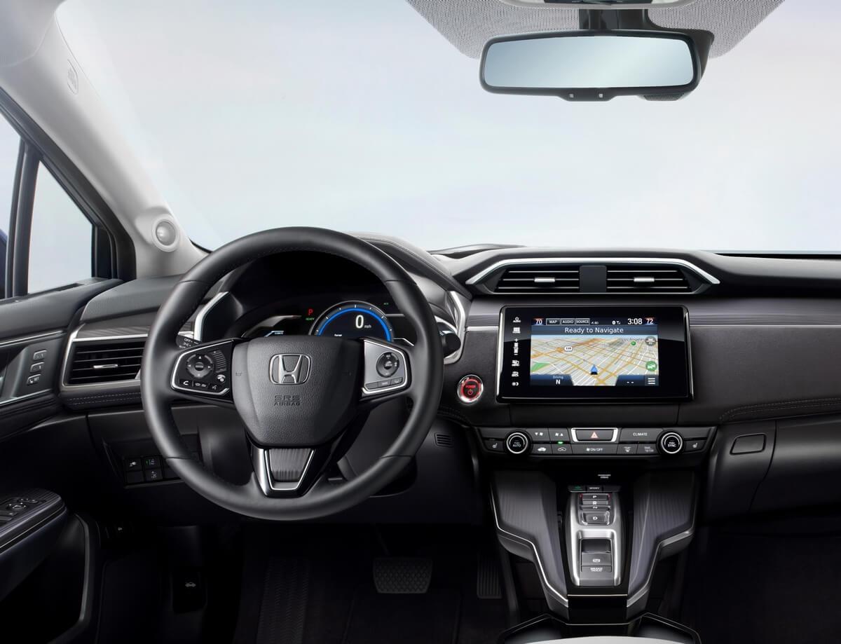 Honda Clarity Electric 25.5kwh interior 2017 2018 2019 2020