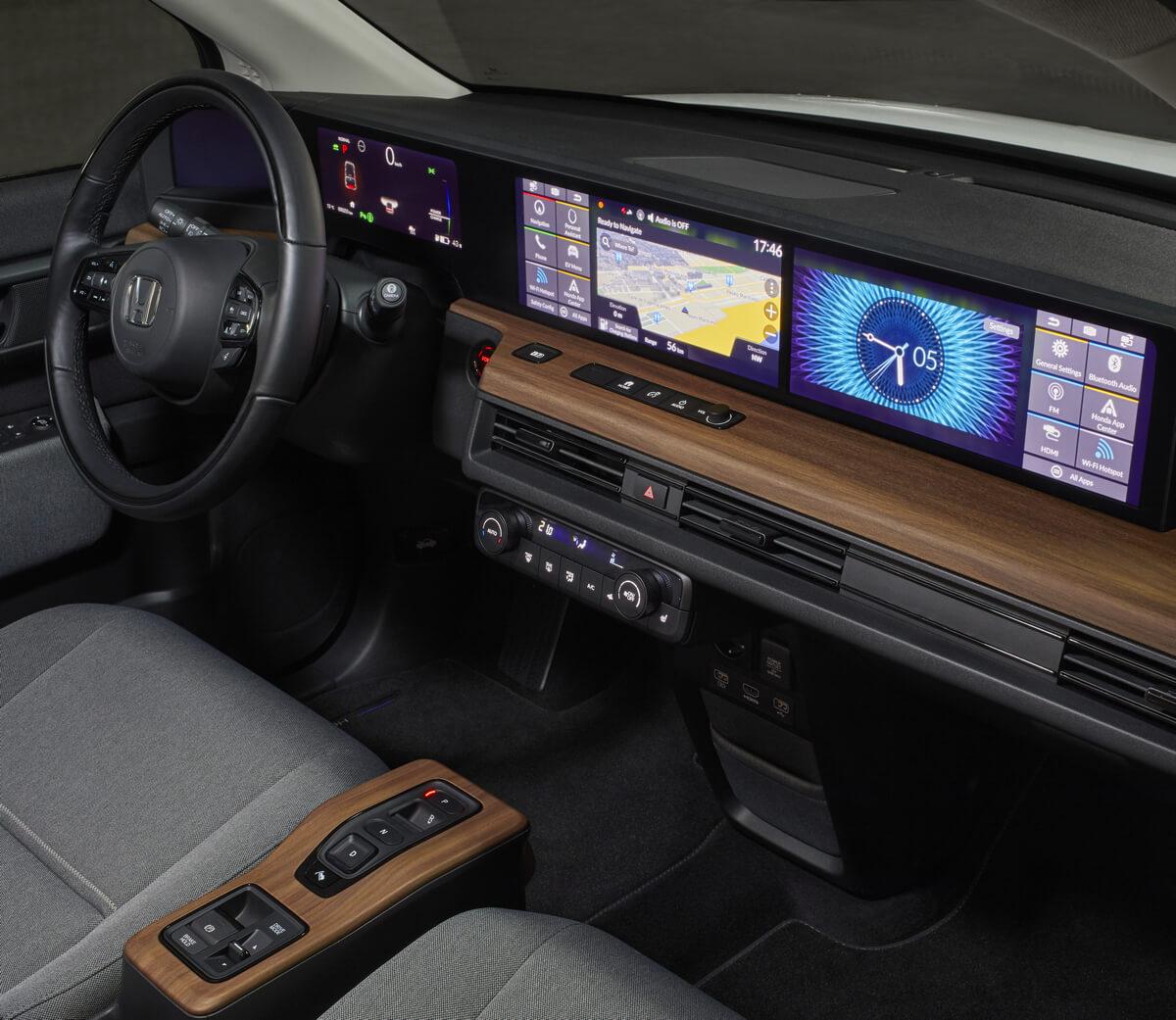 Honda e interior 2020 2021 2022