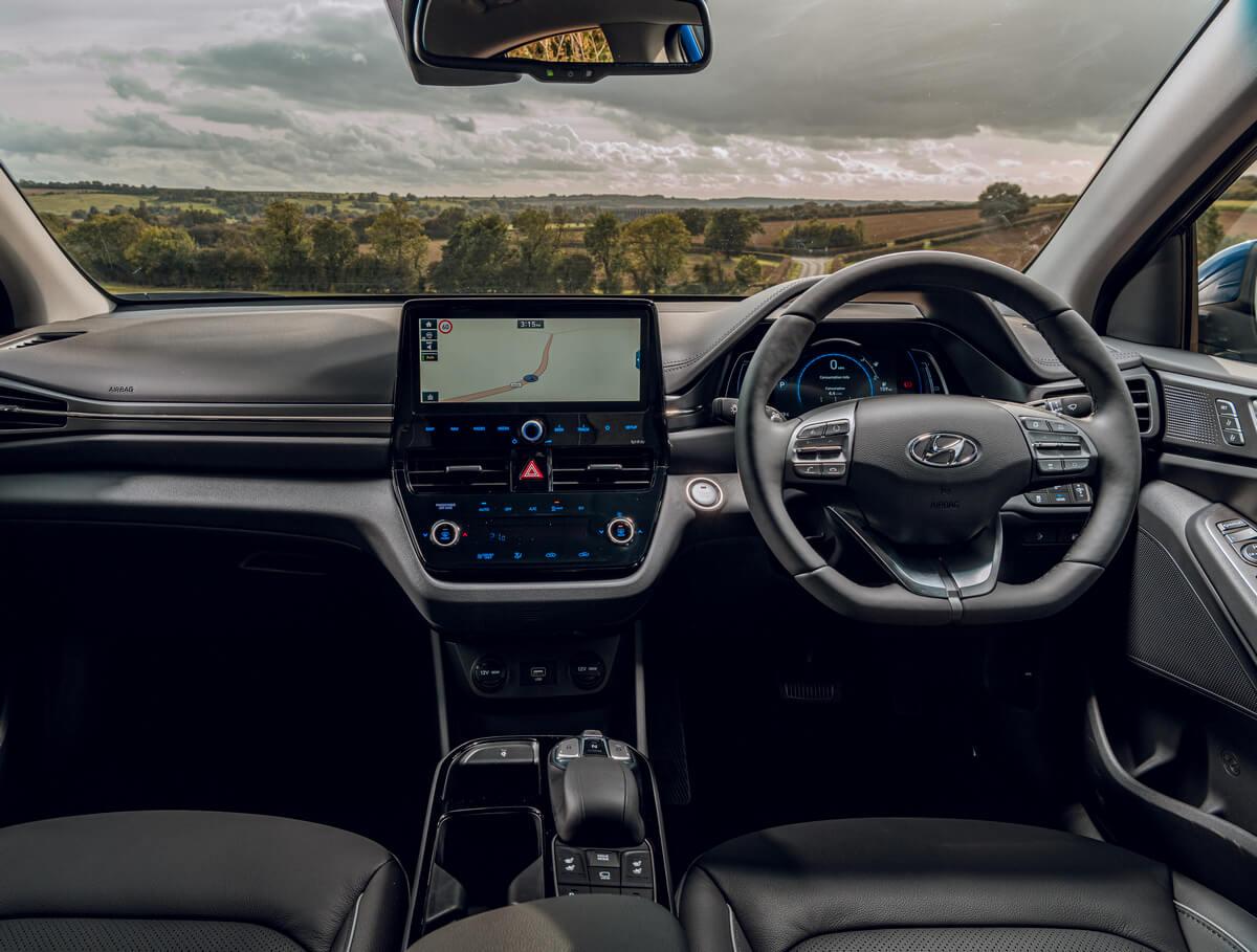 Hyundai IONIQ electric Interior United Kingdom