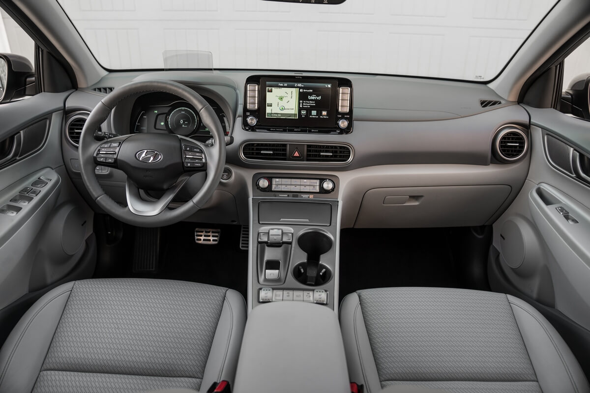 Hyundai Kona Electric 2018 2019 2020 2021 Interior