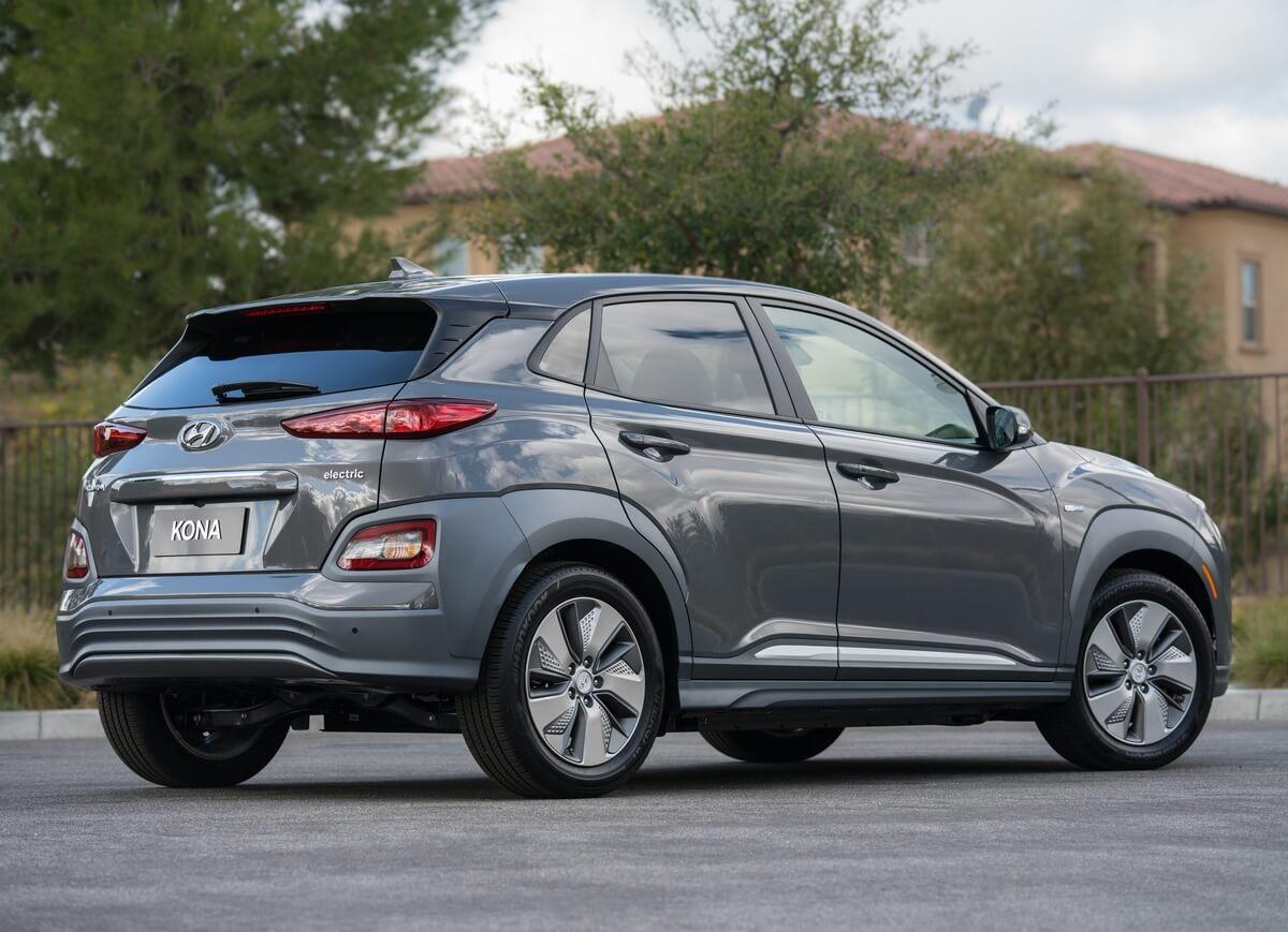 Hyundai Kona Electric 2018 2019 2020 2021 Rear
