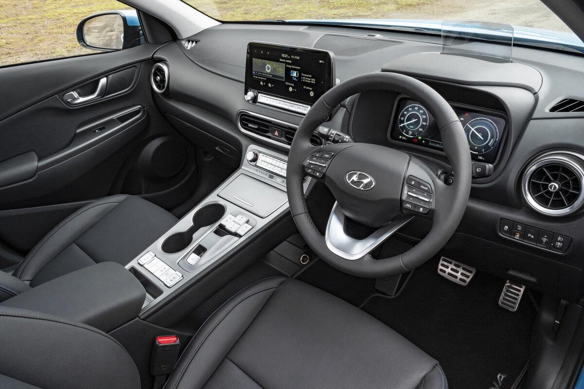 Hyundai Kona Electric Interior United Kingdom