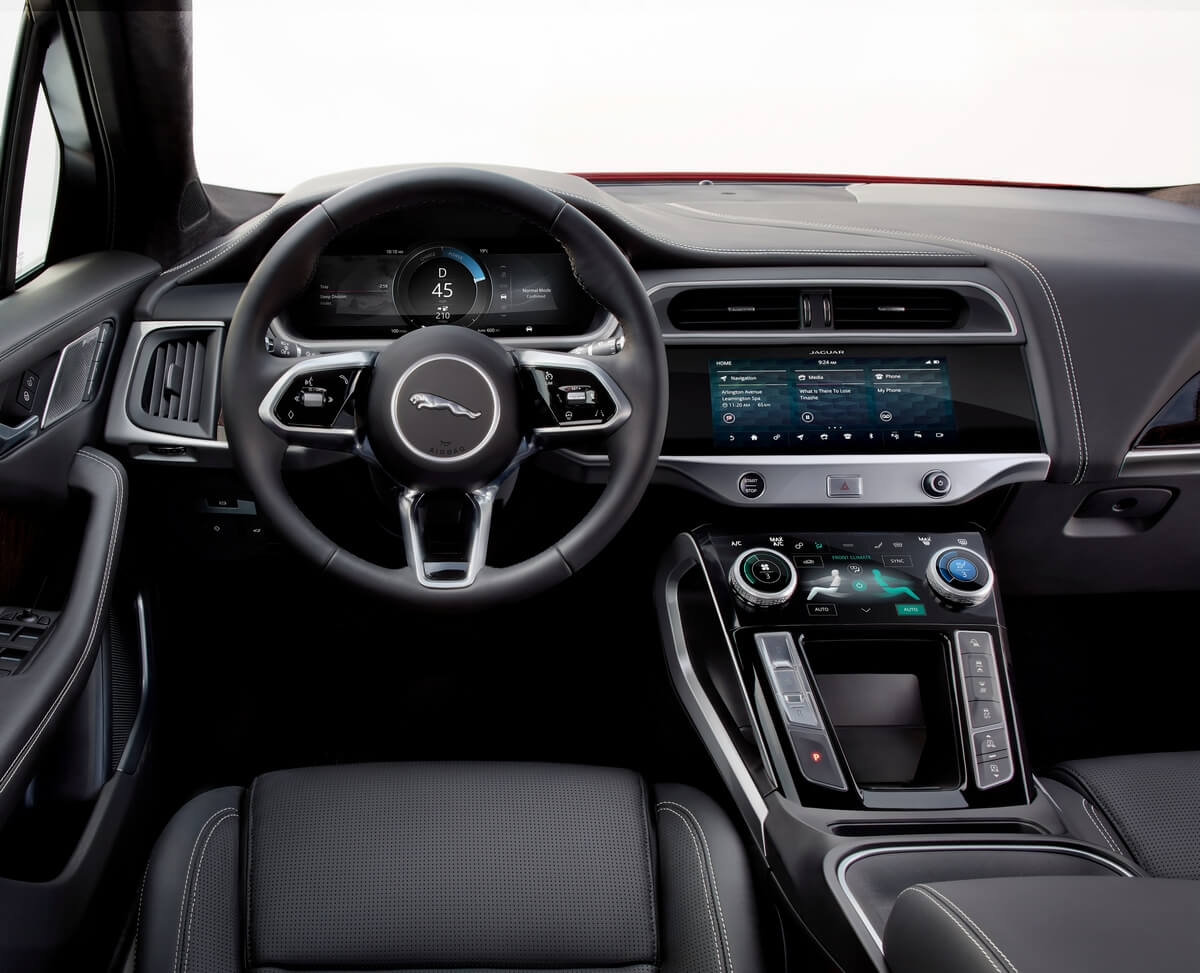 Jaguar I-Pace ev400 AWD 2018 2019 2020 Interior