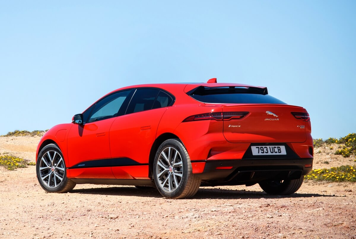 Jaguar I-Pace ev400 AWD 2018 2019 2020 Rear