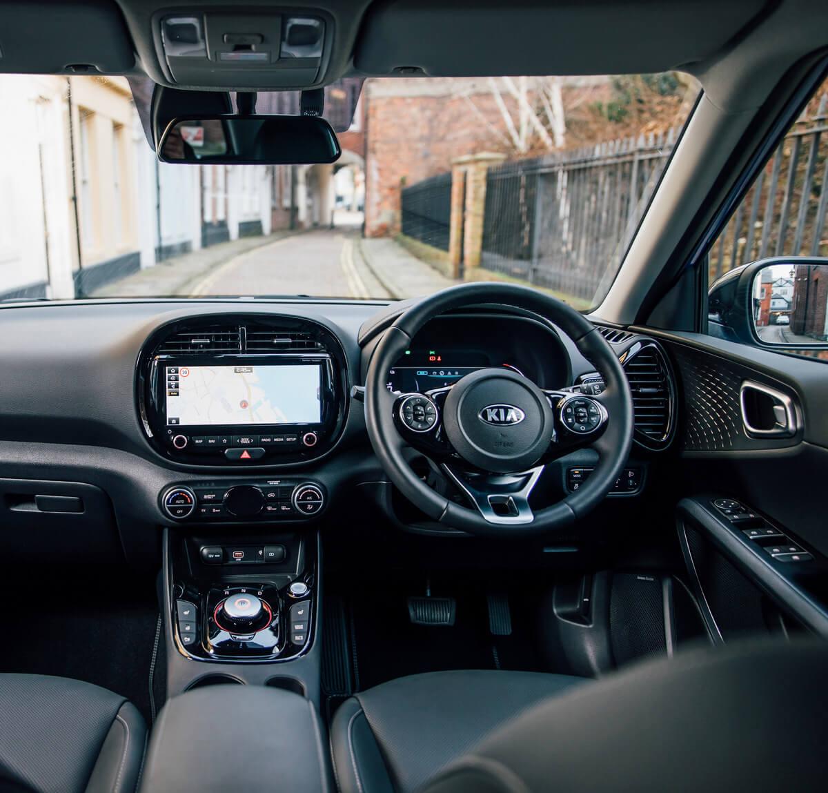 Kia Soul EV Interior United Kingdom