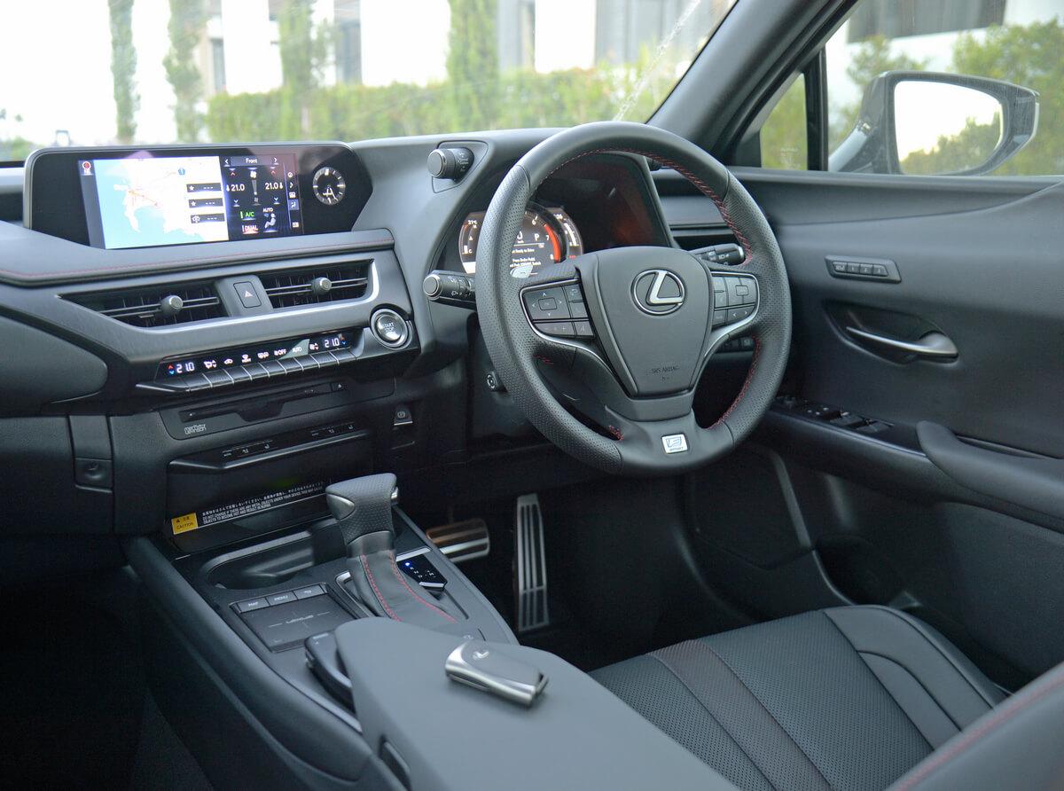 Lexus UX 300e Interior United Kingdom