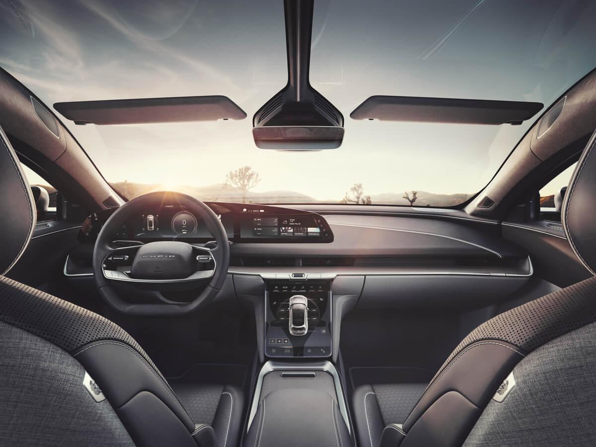 Lucid Air Dream Edition Interior