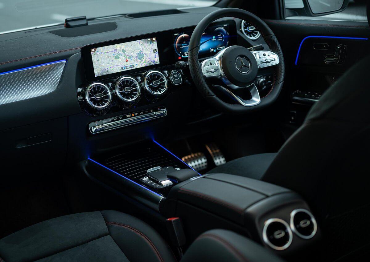 Mercedes-Benz EQA Interior United Kingdom