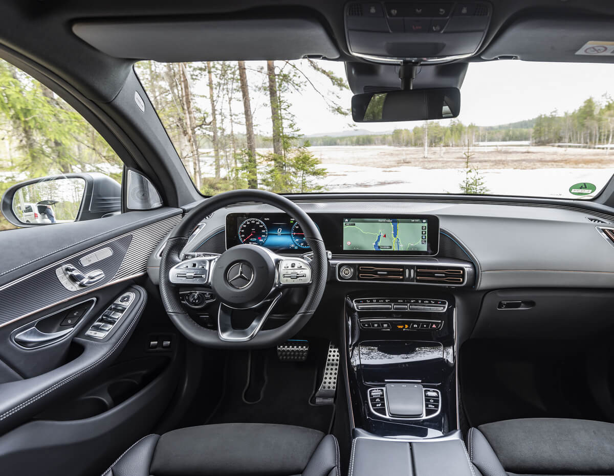 Mercedes-Benz EQC 400 4MATIC AMG Line Interior