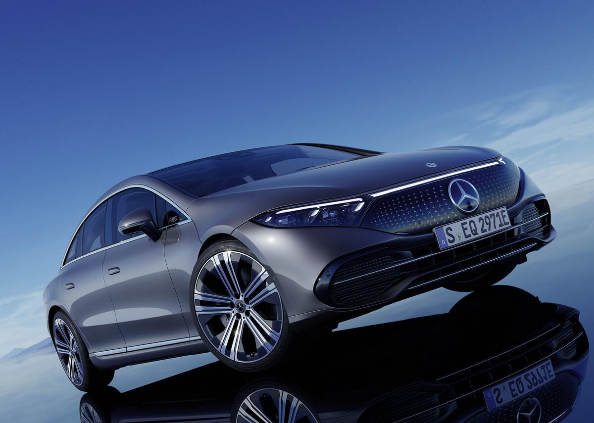 Mercedes-Benz EQS 450 plus