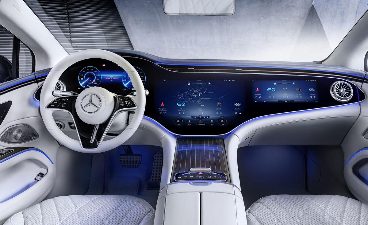 Mercedes-Benz EQS 580 4MATIC AMG Line Interior