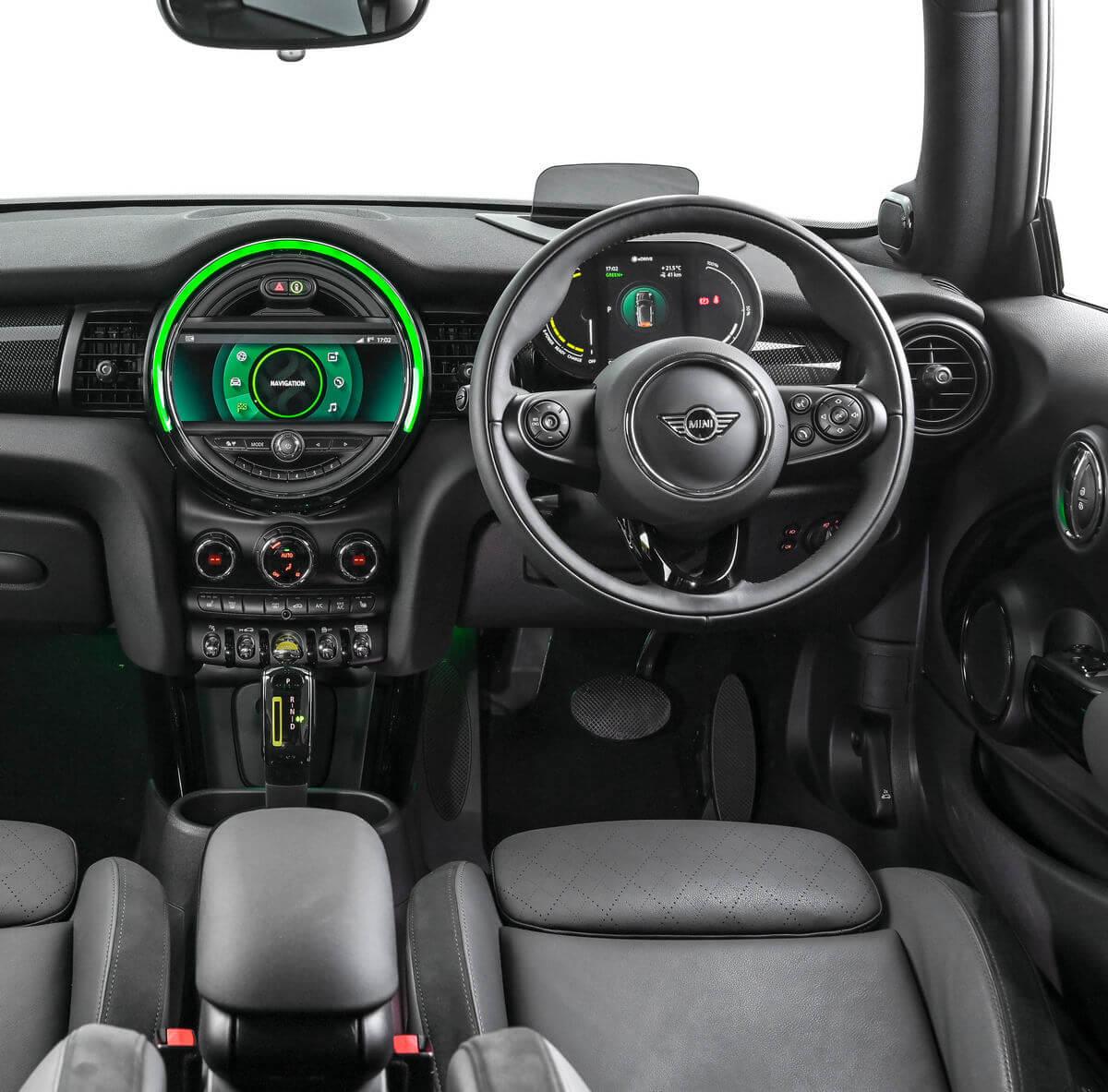 MINI Cooper SE 2020 2021 Interior United Kingdom