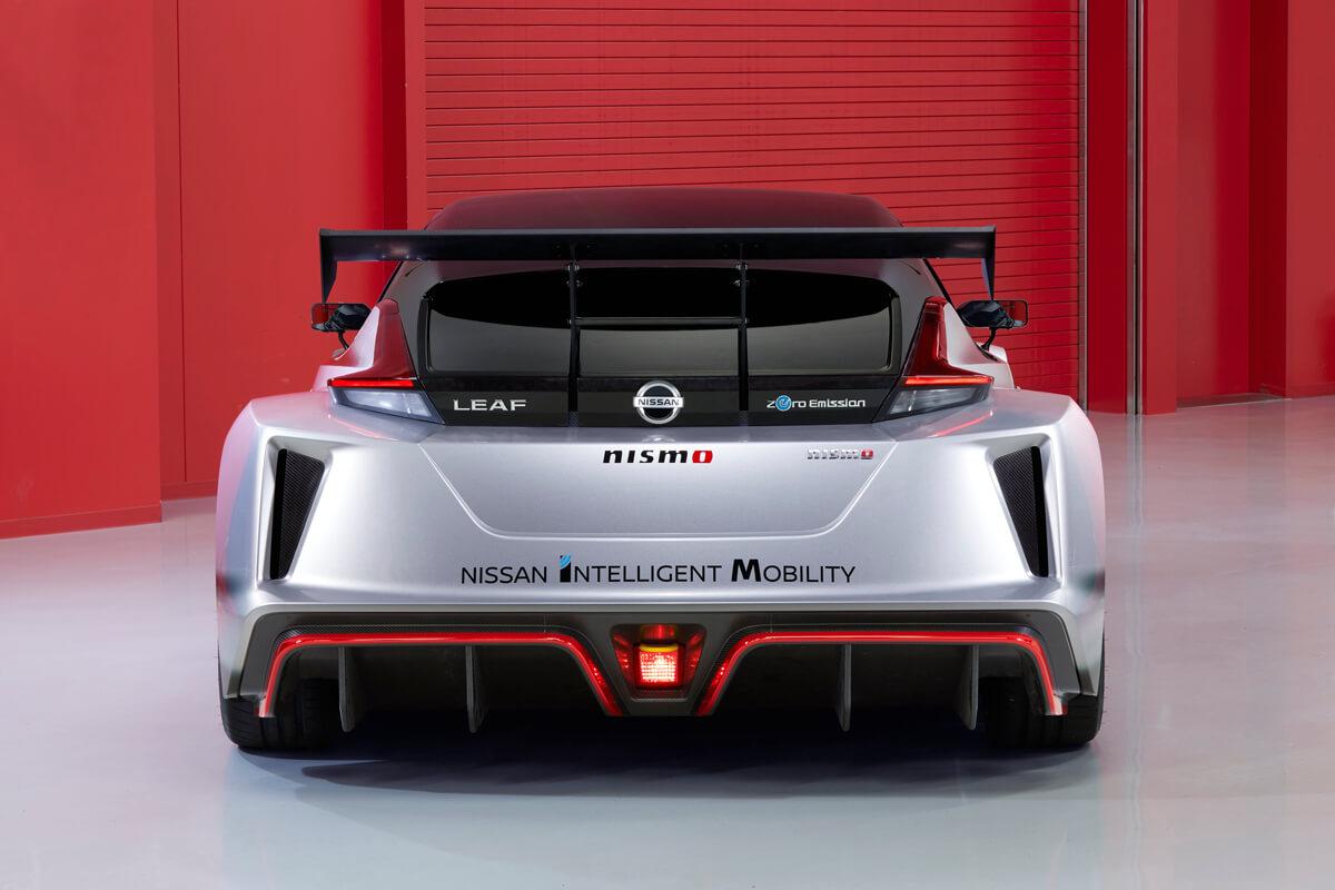 Nissan Leaf Nismo RC rear