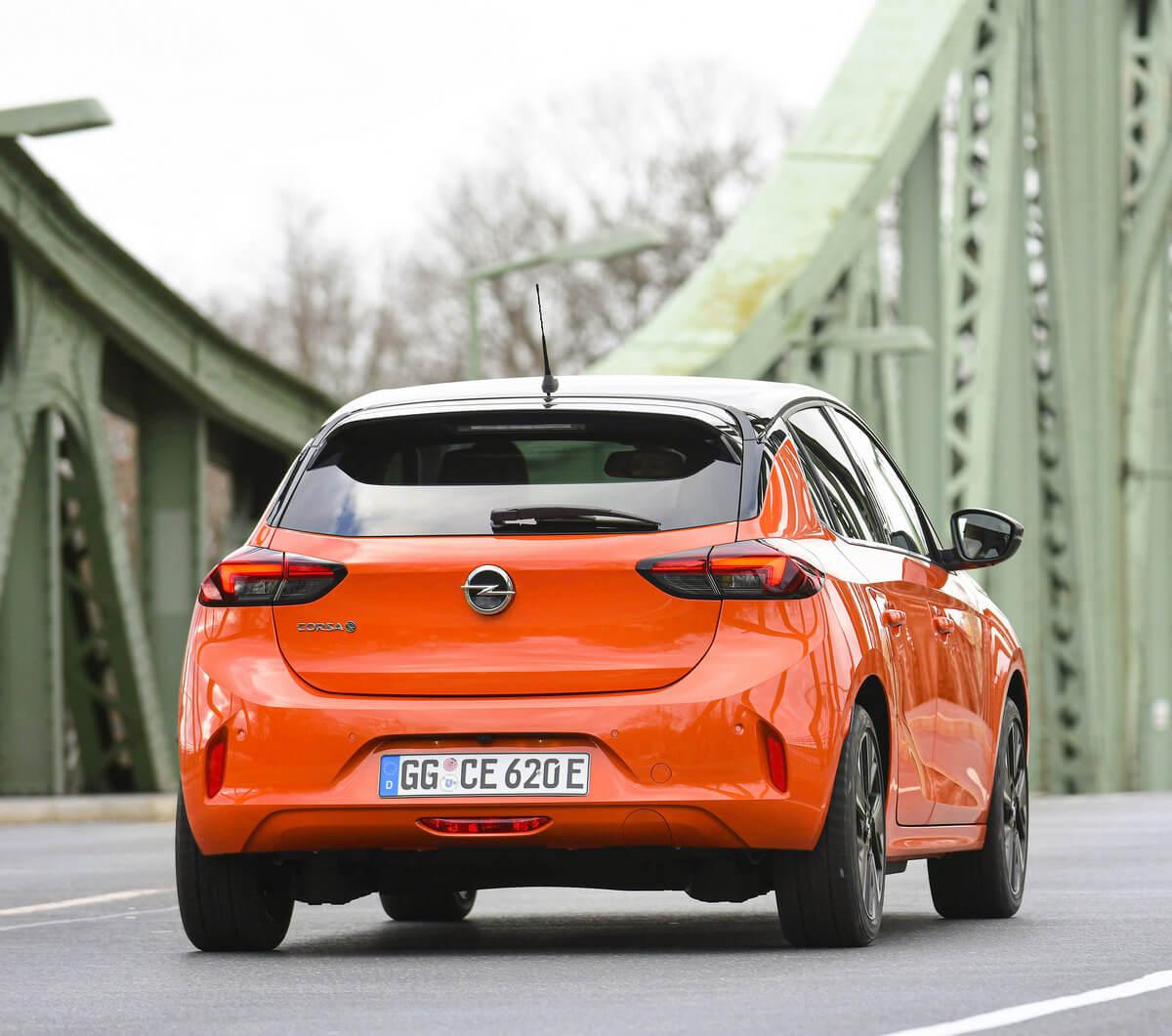 Opel Corsa-e Rear