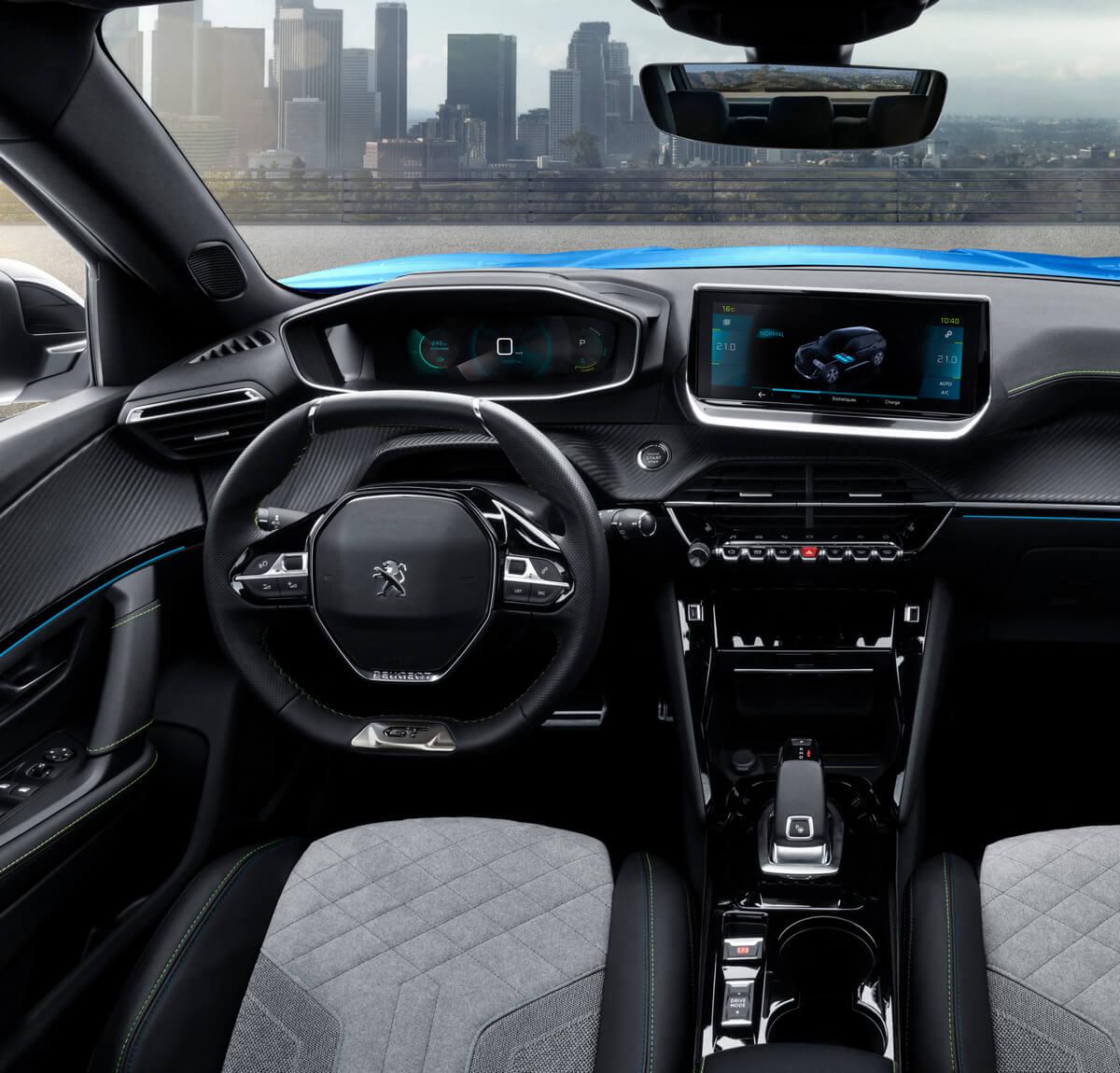 Peugeot e-2008 Interior