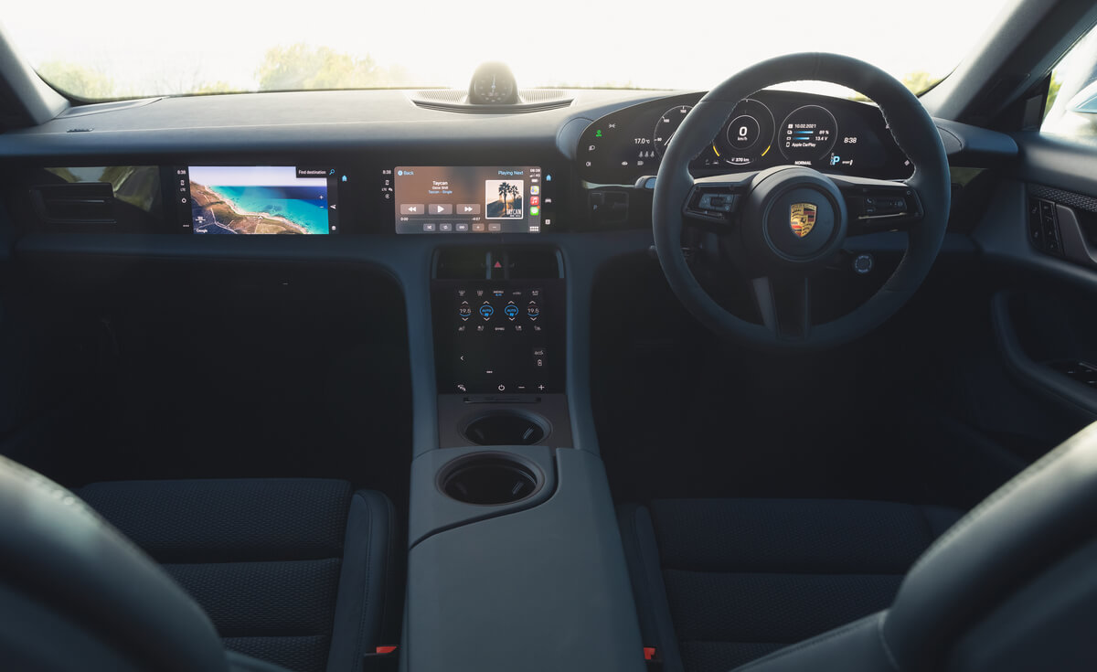 Porsche Taycan 4S Interior United Kingdom