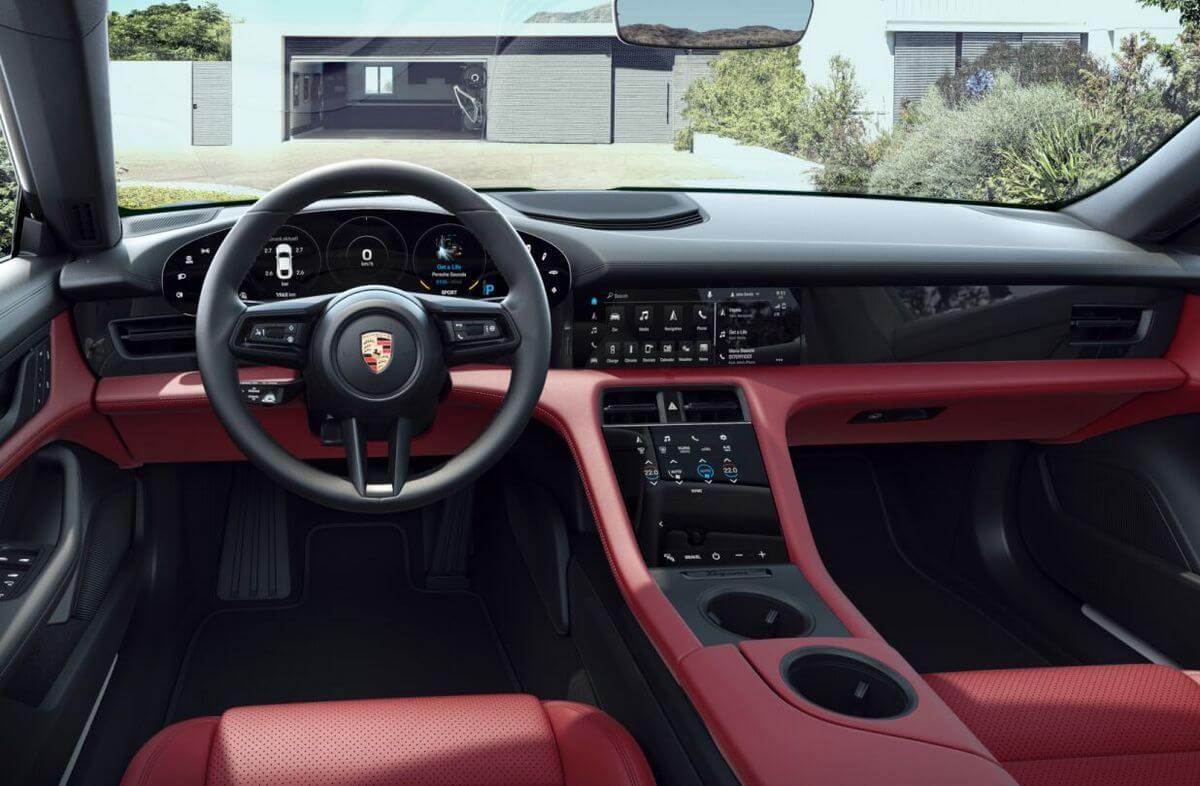 Porsche Taycan 4S Plus Interior