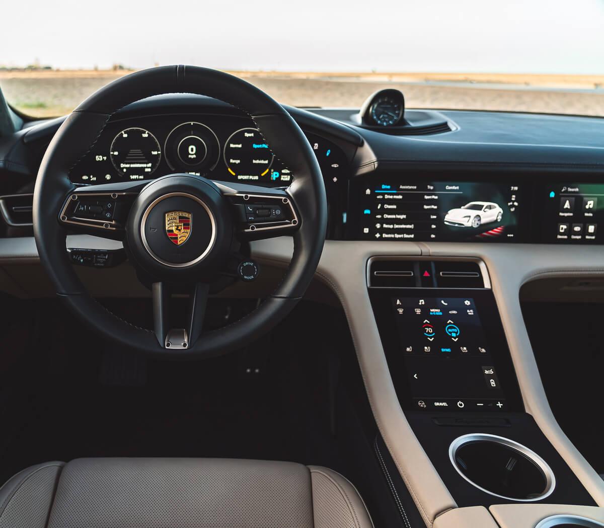 Porsche Taycan Turbo Cross Turismo Interior