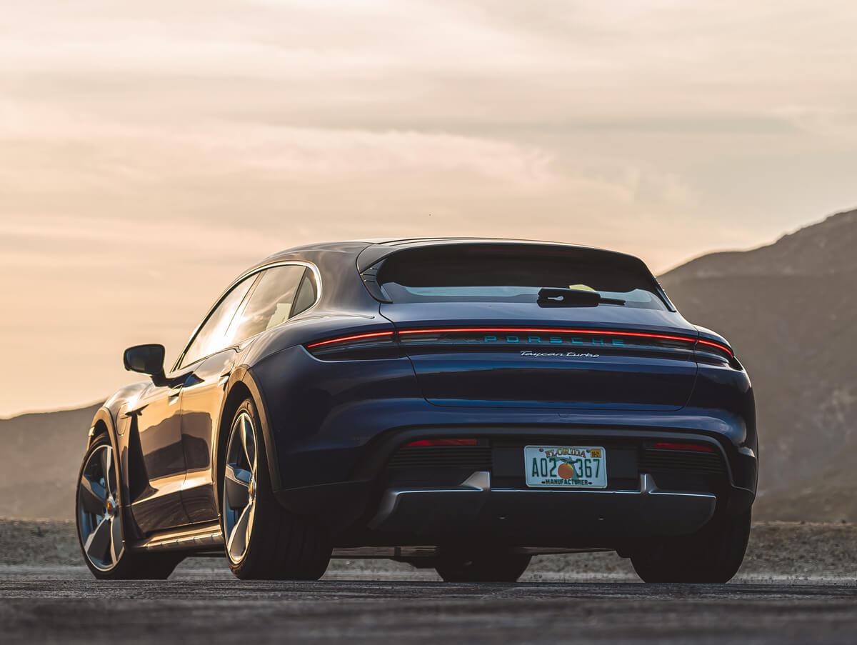 Porsche Taycan Turbo Cross Turismo Rear