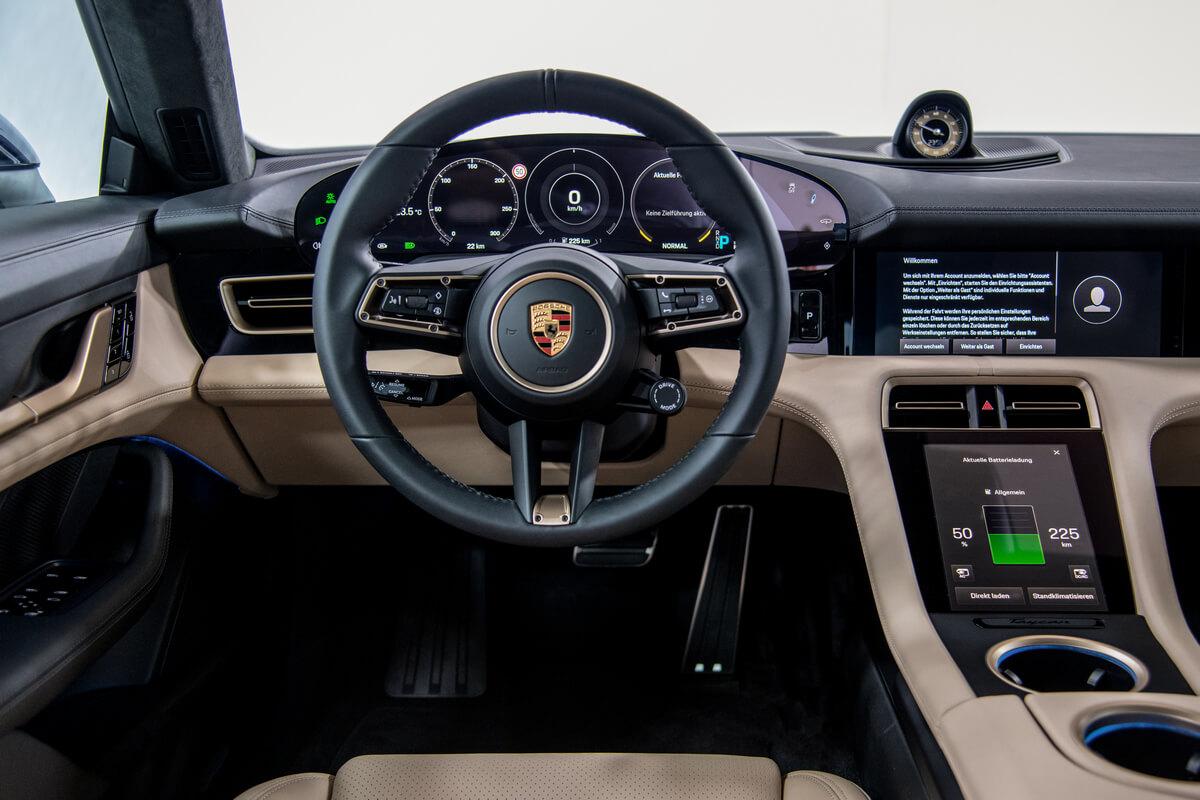 Porsche Taycan Turbo Interior