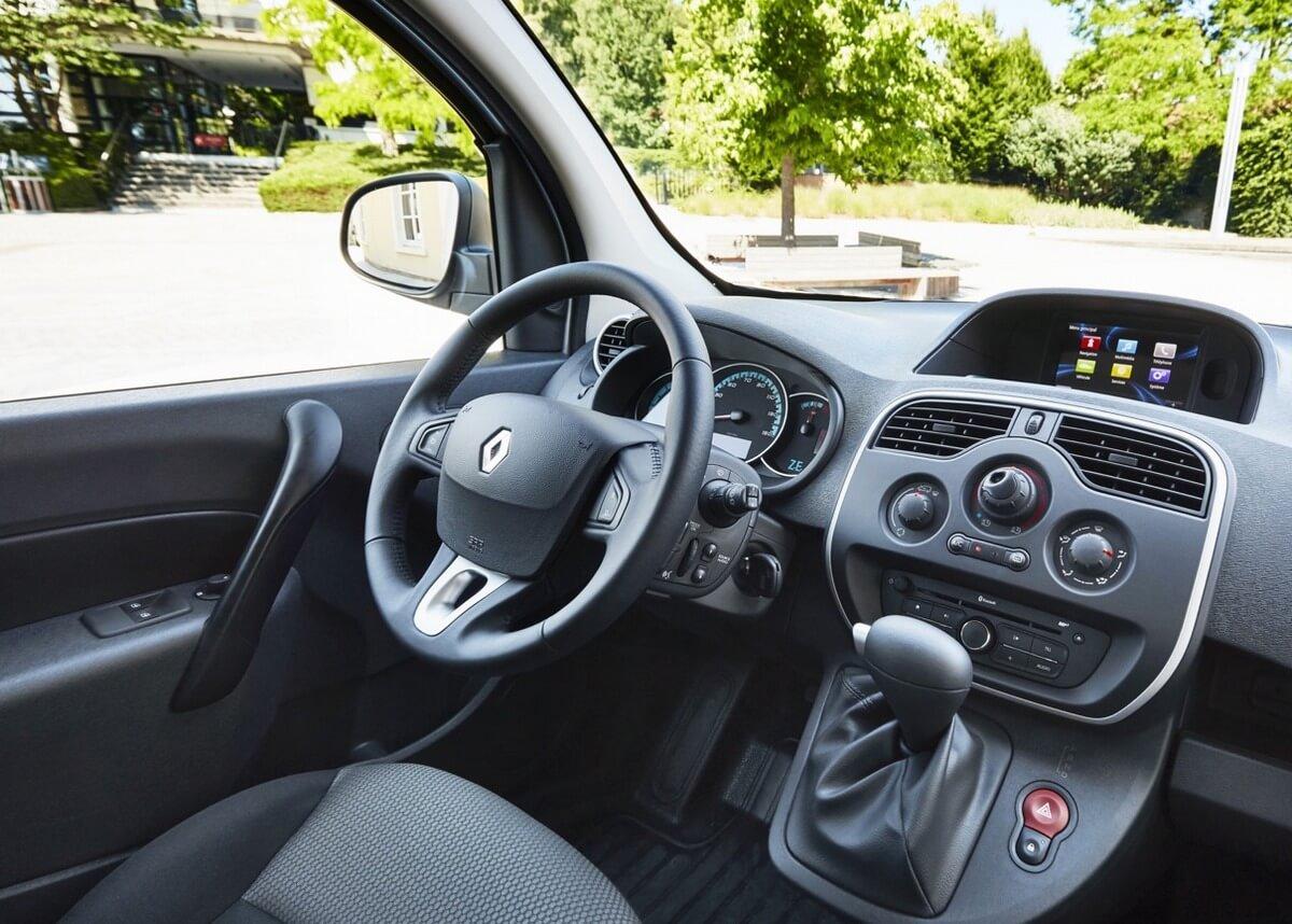 Renault Kangoo Maxi ZE 33 Interior