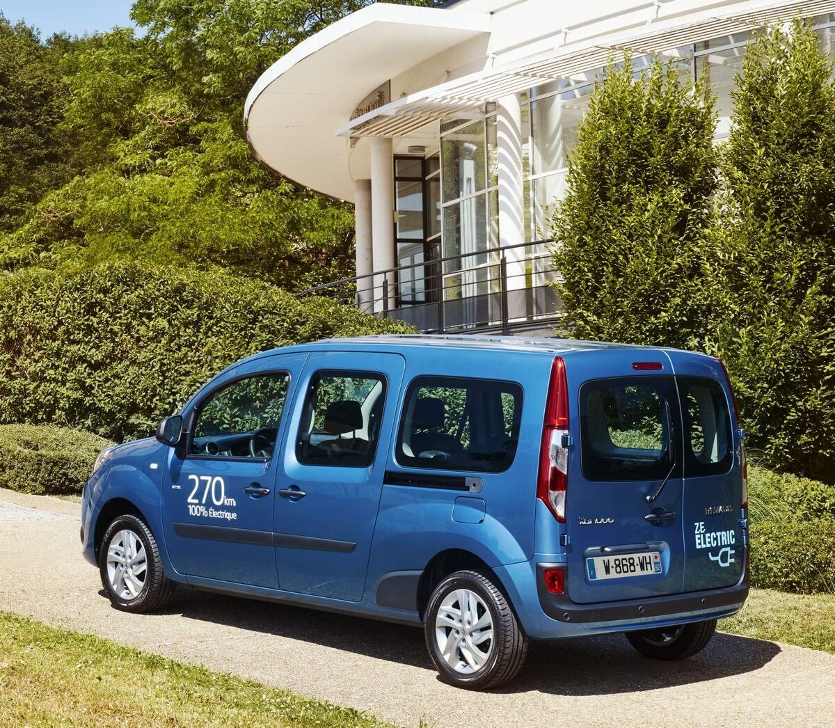 Renault Kangoo Maxi ZE 33 Rear