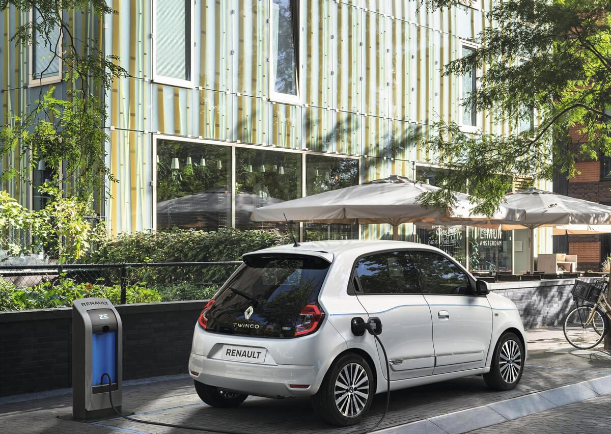 Renault Twingo ZE 22 kWh Rear