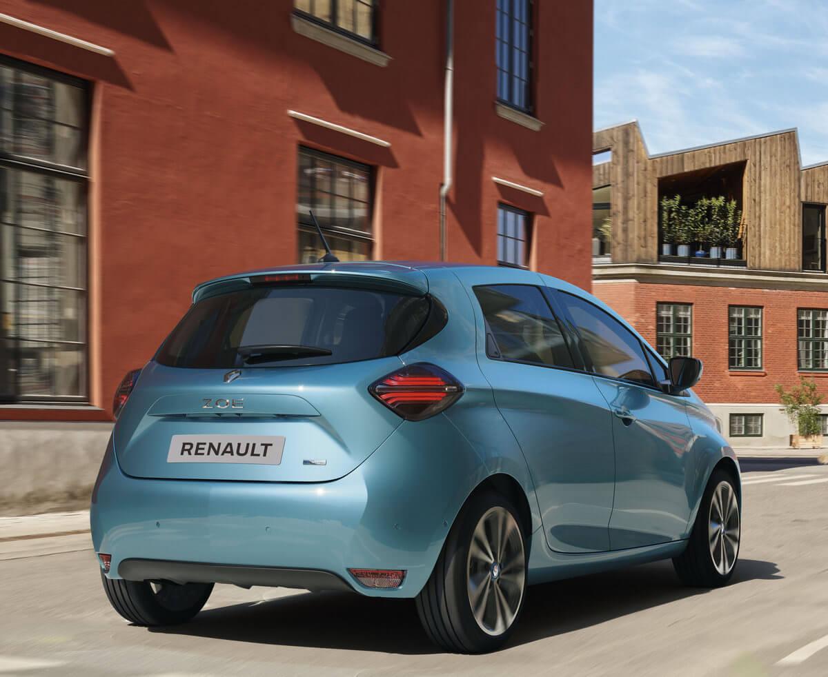 Renault Zoe ZE Rear
