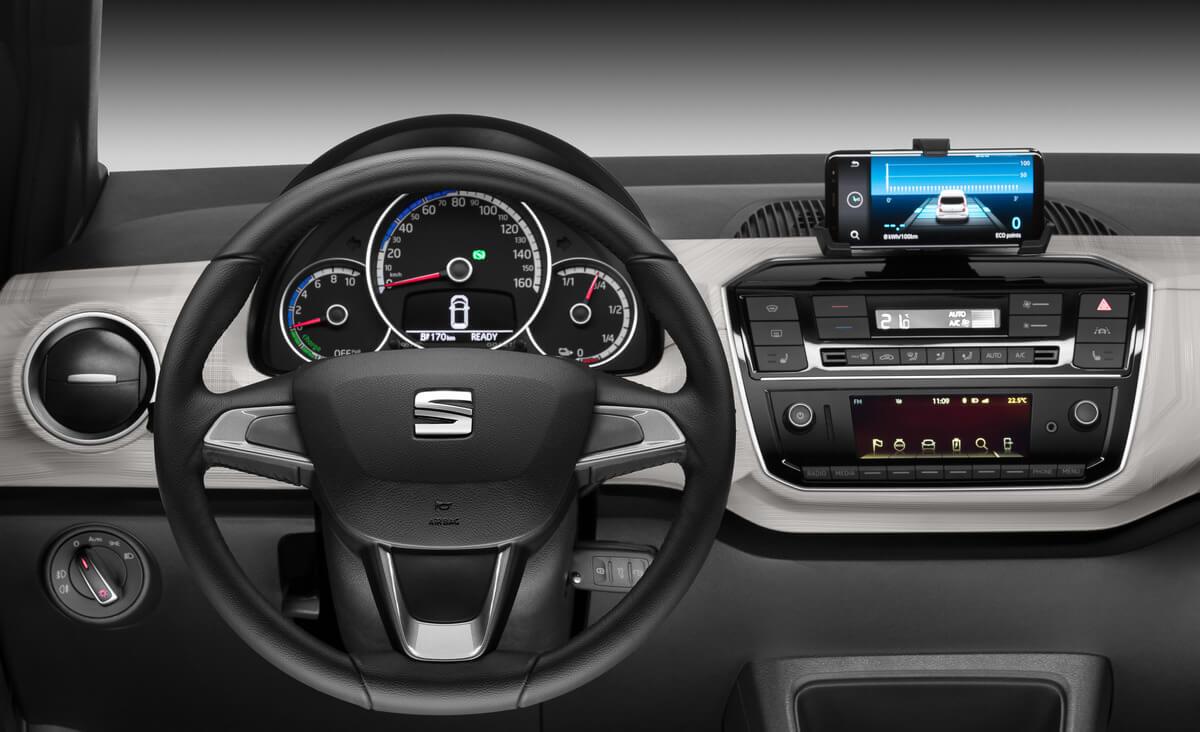SEAT Mii electric Interior 2019, 2020, 2021, 2022
