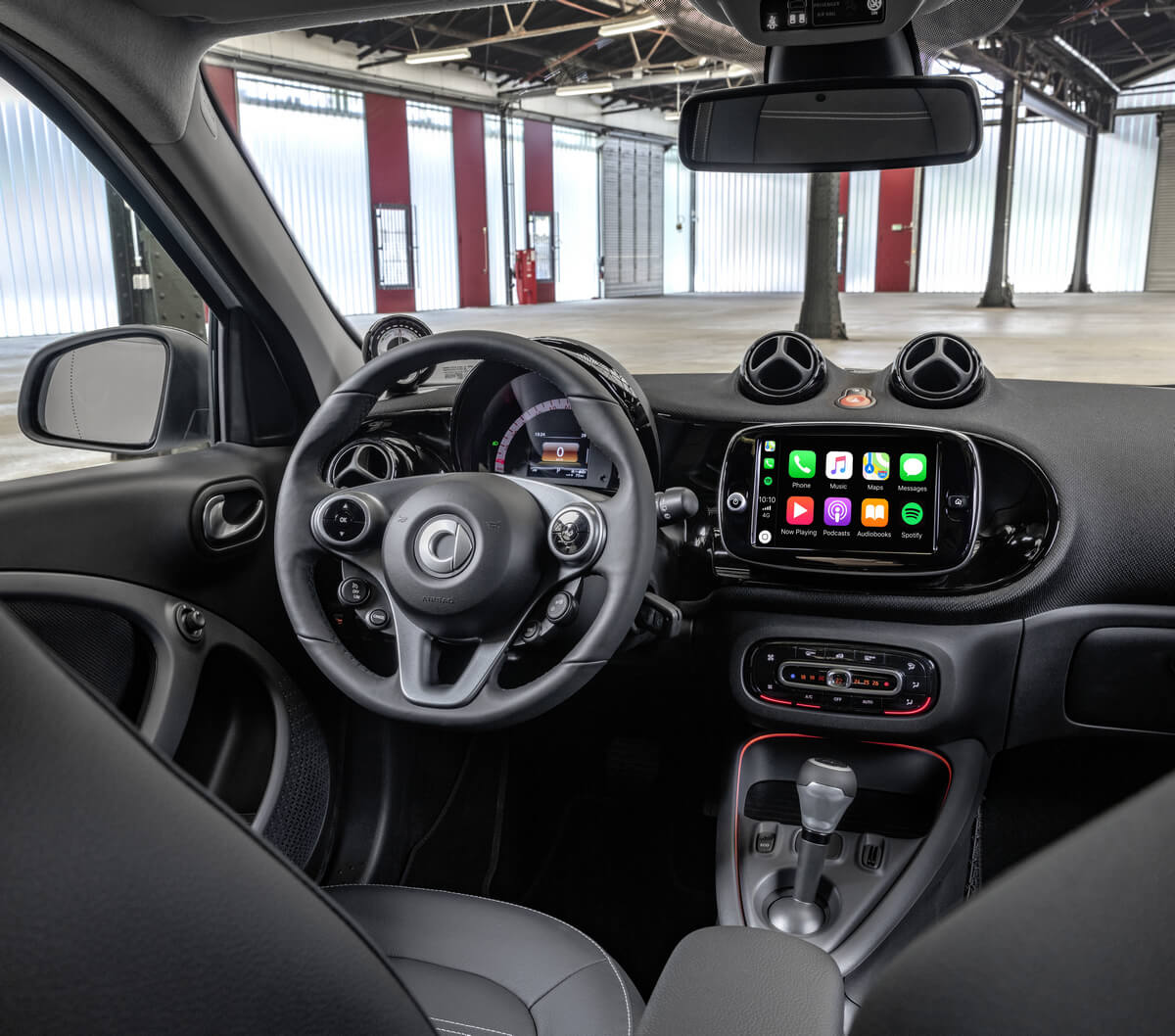 Smart EQ forfour w453 Interior