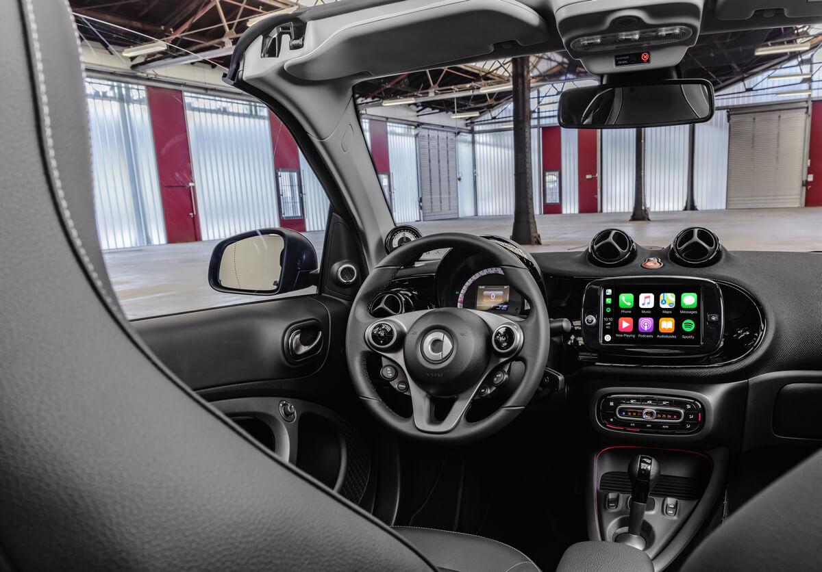 Smart EQ fortwo cabrio A453 Interior