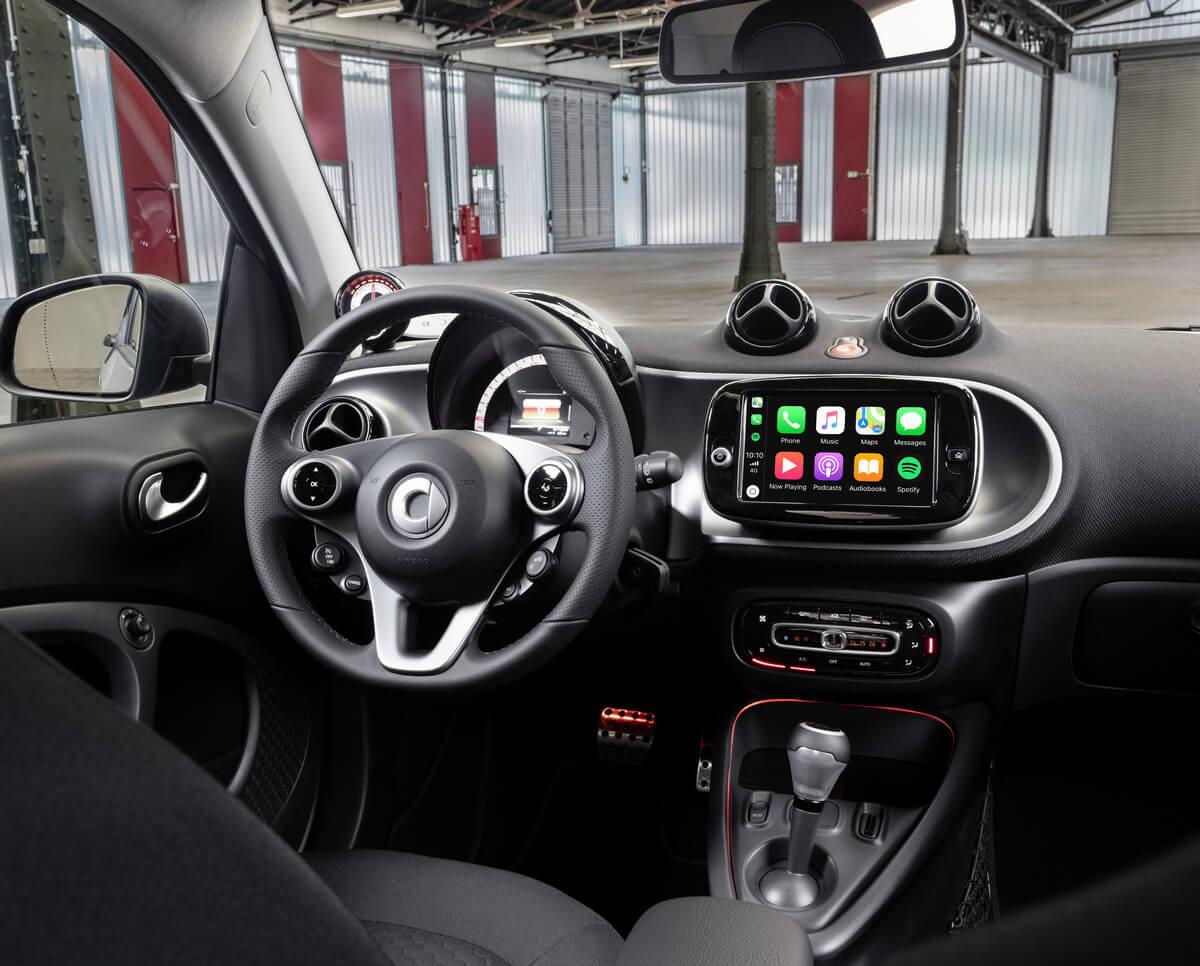 Smart EQ fortwo coupe C453 Interior